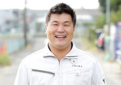 代表取締役 社長 山﨑博征
